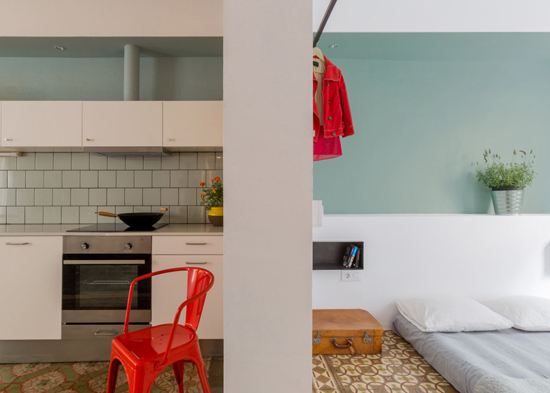 Roc Cubed apartment conversion in Barcelona by Nook
