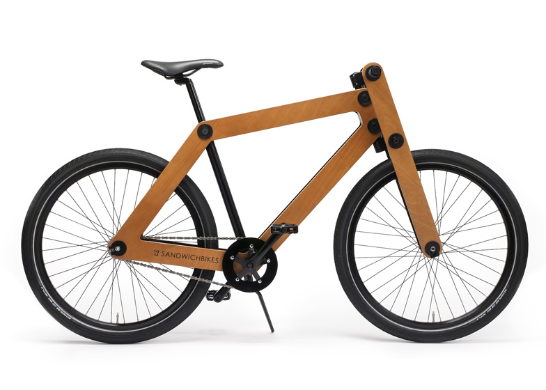 8 of 8 1 of 8 - Wooden Bike Frame