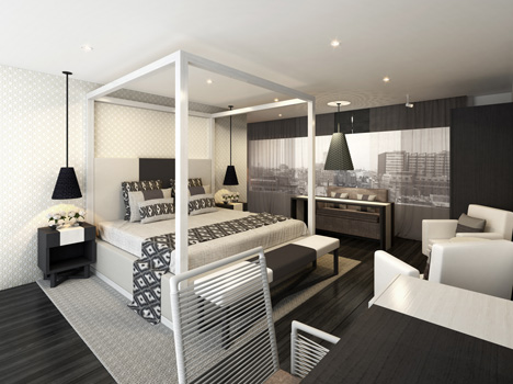 Sleep Hotel concept by Kelly Hoppen