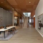 New York loft conversion based on a 1960s modular Swiss house by Ali Tayar