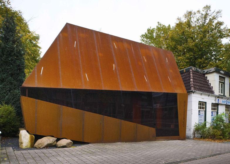 Corten Steel Office Facade By Mohn Bouman Architecture Dezeen