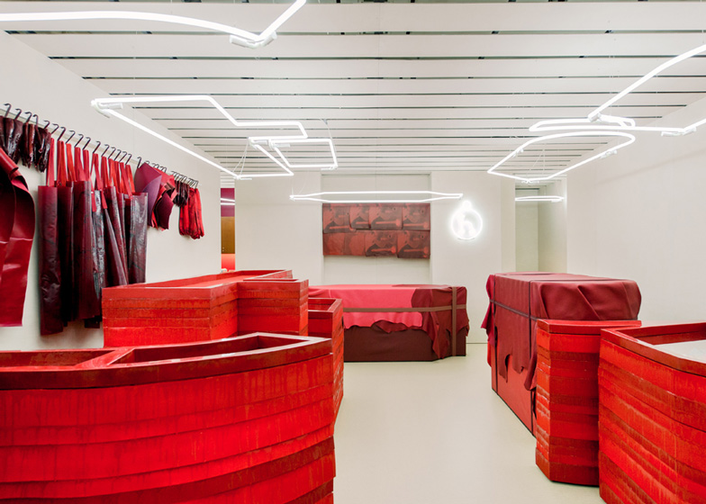 Studio Toogood installation for Hermes Petit h