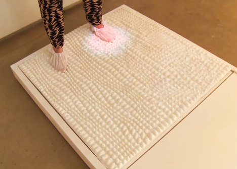 Surfaces that use hacked bacteria to detect dirt or clean themselves