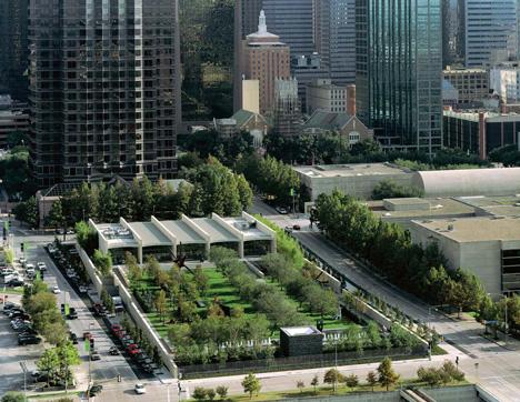 Nasher Sculpture Centre by Renzo Piano in the Dallas Art District