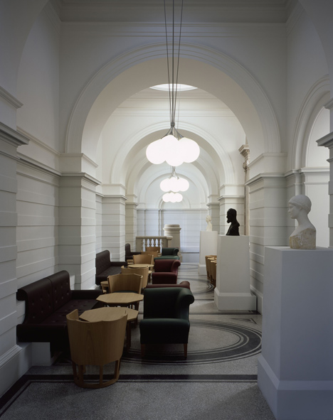 Member's area at Tate Britain by Caruso St John