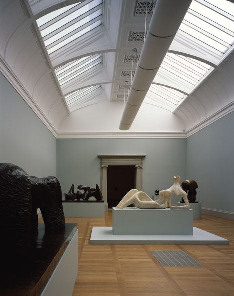 South East Quadrant Gallery at Tate Britain by Caruso St John