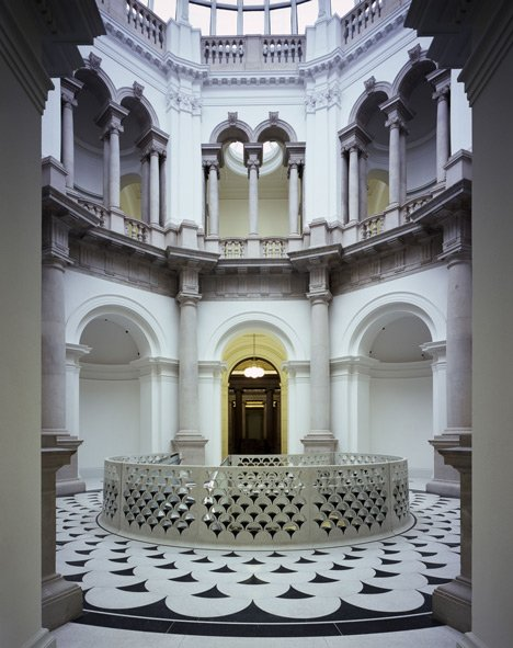 Rotunda at Tate Britain by Caruso St John