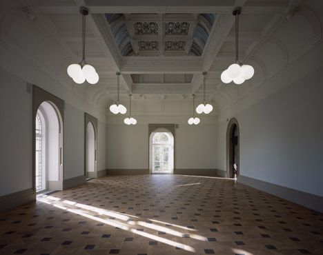 The Grand Saloon at Tate Britain by Caruso St John