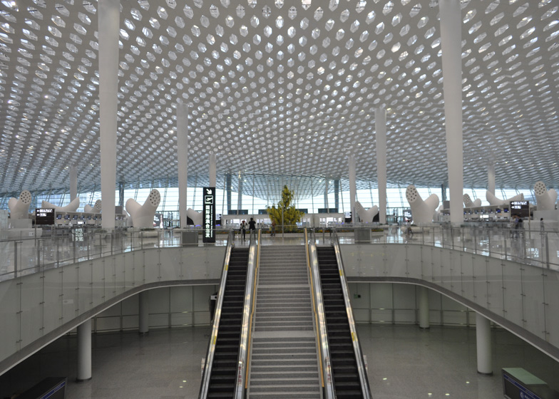 Terminal 3 at Shenzhen Bao'an International Airport by Studio Fuksas