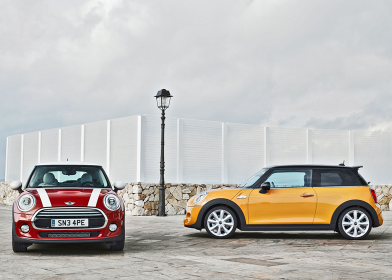 The new MINI launches