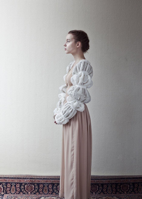 Threads for Cockaigne fashion collection for a medieval tale by Martijn van Strien