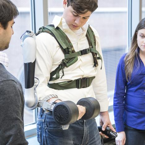 Titan Arm robotic exoskeleton