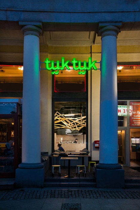 Tuk Tuk Thai Street Food Bar by Moko