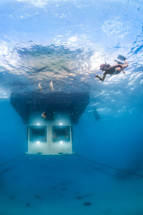 Underwater hotel room opens off the coast of Zanzibar