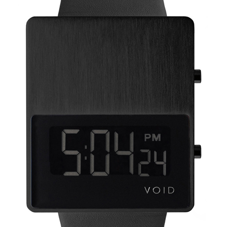 VOID V01 watch in black