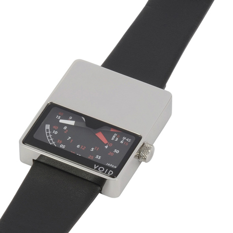 VOID V02 watch with polished finish