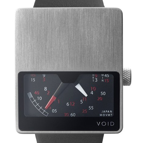 VOID V02 watch in brushed finish