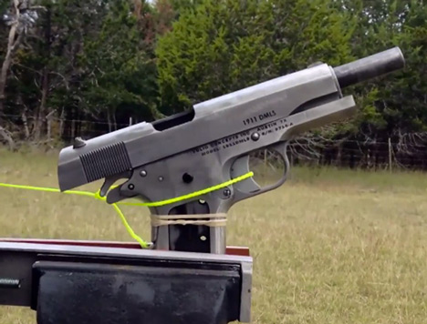 Worlds first 3D-printed metal gun 1911 successfully fired Solid Concepts
