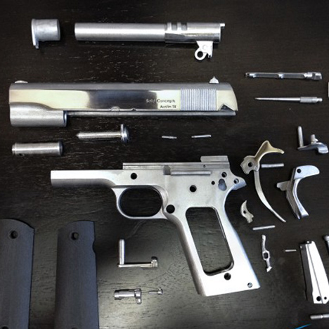 World's first 3D-printed metal gun successfully fired