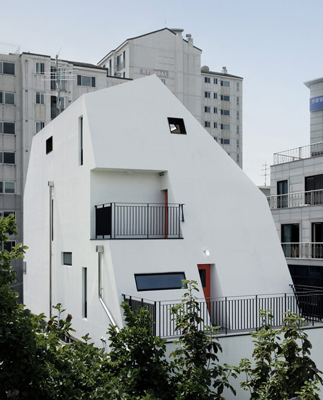 YOAP White House apartment block in Seoul by Design Band YOAP