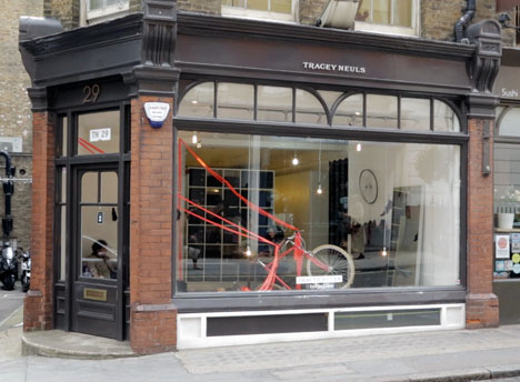 Tracey Neuls store on Marylebone Lane, London