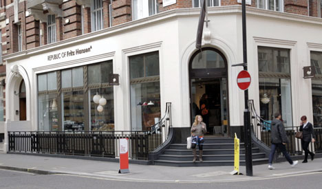 Republic of Fritz Hansen, London