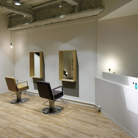 greeM hair salon by Yozo Suzuki-dezeen_sq