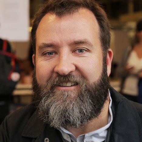 Michael Sodeau, designjunction design director