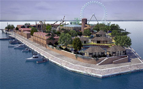 £70 million theme park proposed for abandoned island in Venice
