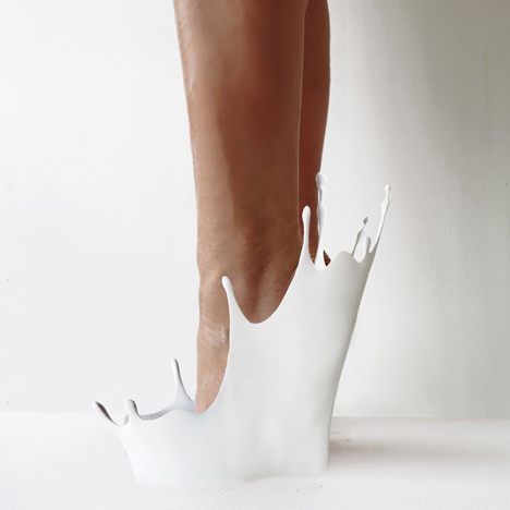 Cry Baby 12 shoes for 12 lovers by Sebastian Errazuriz