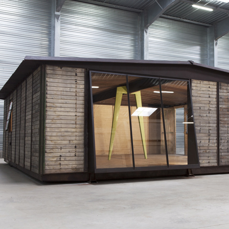 8x8 Demountable House by Jean Prouvé at Design Miami