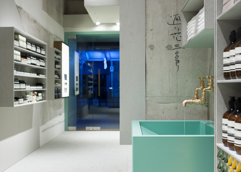 Aesop Kawaramachi by Torafu Architects