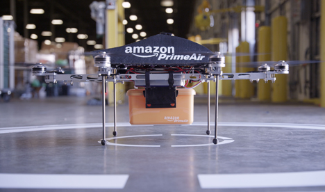 Amazon prime air prototype drone