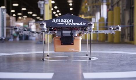 Amazon prime air prototype drone