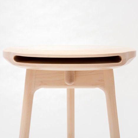 Andy Stool By Loic Bard.  Images