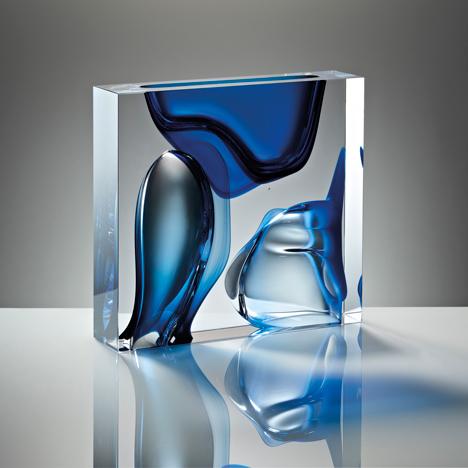 Anna Torfs Moment Square Blue