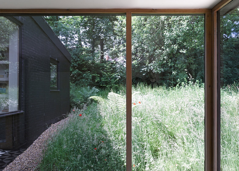 Aperture in the Woods, High Bois Lane by Takero Shimazaki and Charlie Luxton