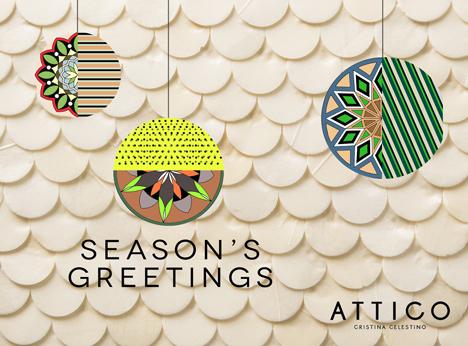 Attico christmas card