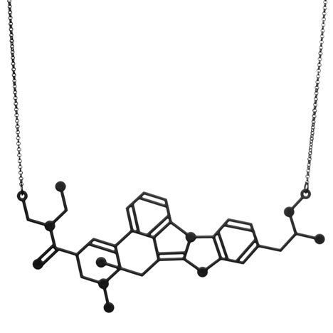 Candy Flipping necklace_Designer Drugs By Aroha Silhouettes