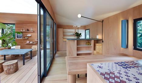 Charlotte Perriand La Maison au bord de leau Louis Vuitton at Design Miami 2013_dezeen_12