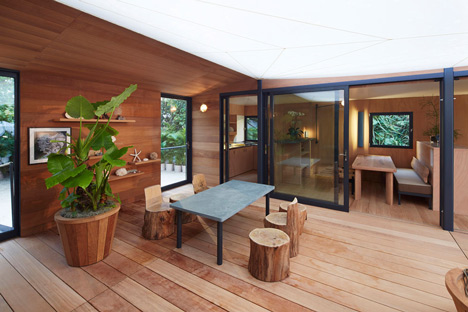 Charlotte Perriand La Maison au bord de leau Louis Vuitton at Design Miami 2013_dezeen_16