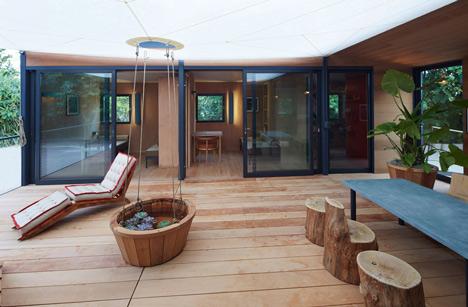 Charlotte Perriand La Maison au bord de leau Louis Vuitton at Design Miami 2013_dezeen_17
