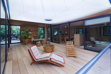 Charlotte Perriand La Maison au bord de leau Louis Vuitton at Design Miami 2013_dezeen_18