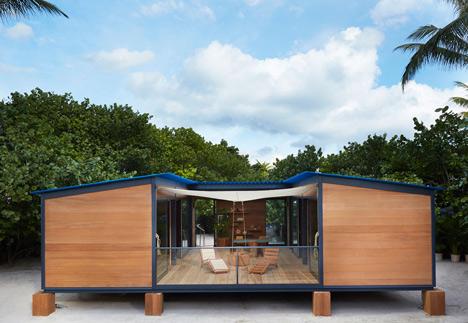 Charlotte Perriand La Maison au bord de leau Louis Vuitton at Design Miami 2013_dezeen_19