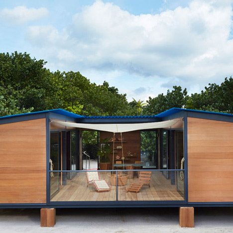 Louis Vuitton Builds Charlotte Perriand Beach House At Design Miami