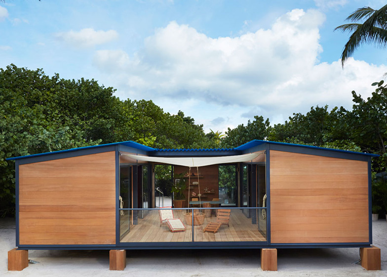 Charlotte Perriand Design.Louis Vuitton Builds Charlotte Perriand Beach House At