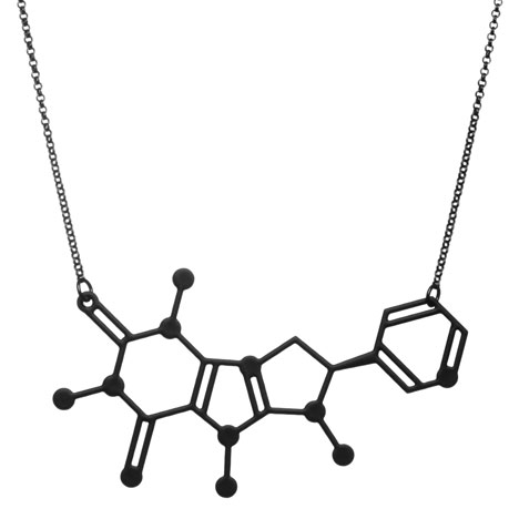 Coffee and Cigarettes necklace_Designer Drugs By Aroha Silhouettes
