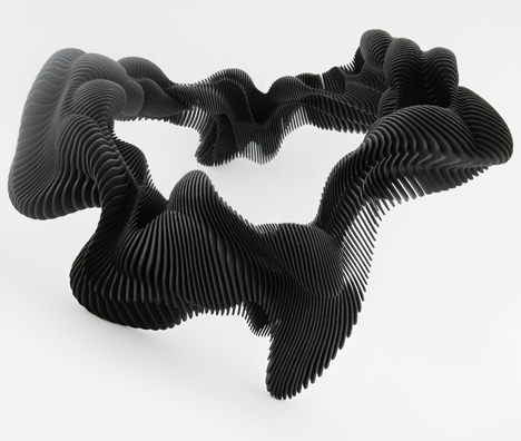 Daniel Widrig Kinesis 3D-printed body adornments