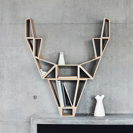Deer Shelf by BEdesign