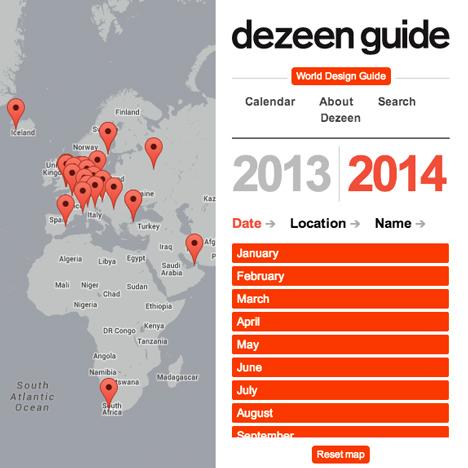 Dezeen Guide 2014